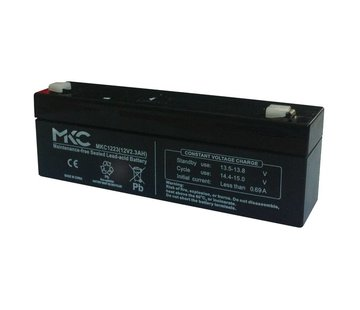 Quiko Back-up batterij 12VDC