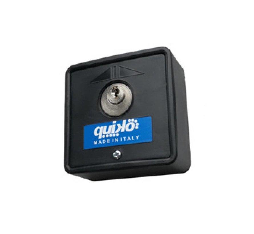 Key switch met sleutel en elektrisch contact