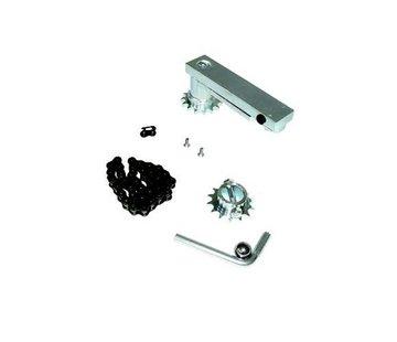 Quiko 180° opening extensie voor SUB motor