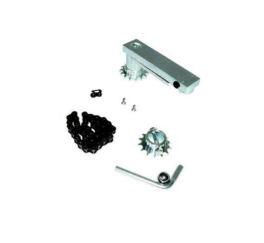 180° opening tool voor 1 x SUB ondergrondse motor