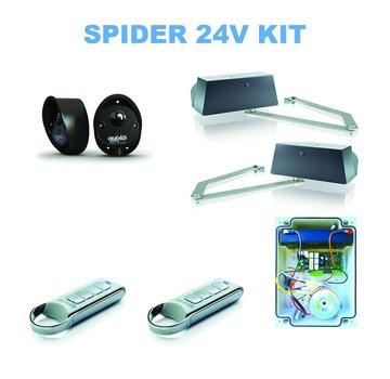 Quiko SPIDER - S500KIT - Knikarm opener 24V KIT - 3,5 m