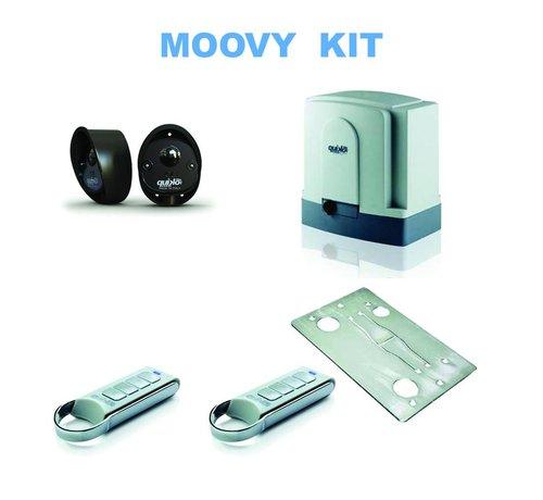 Quiko MOOVY M2000 is een zwaar uitgevoerde, robuuste en betrouwbare schuifpoortopener tot 2.000 kg