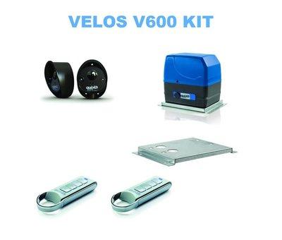 Quiko VELOS HS is de snelste automatische poortopener in zijn categorie - klein maar zeer snel en performant