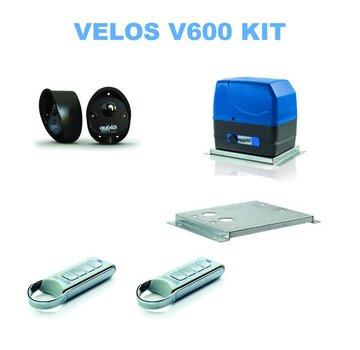 Quiko VELOS QK-V600KIT Schuifpoortopener 600 kg voor poortautomatisatie