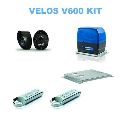 Quiko VELOS is een zeer betrouwbare en complete schuifpoortopener - klein in afmeting maar sterk