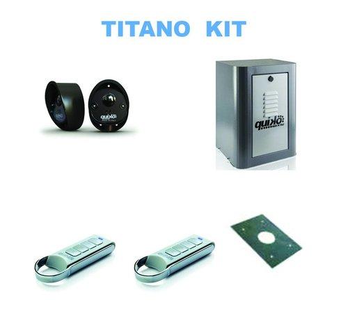 Quiko TITANO is de professionele serie voor zeer zware schuifpoorten tot 3.000 kg