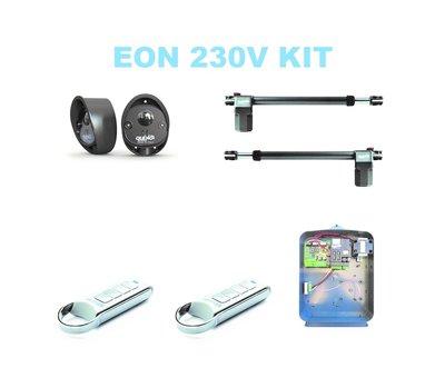 Quiko EON E400 is de topkwaliteit automatische draaipoortopener voor poortautomatisering in de professional series