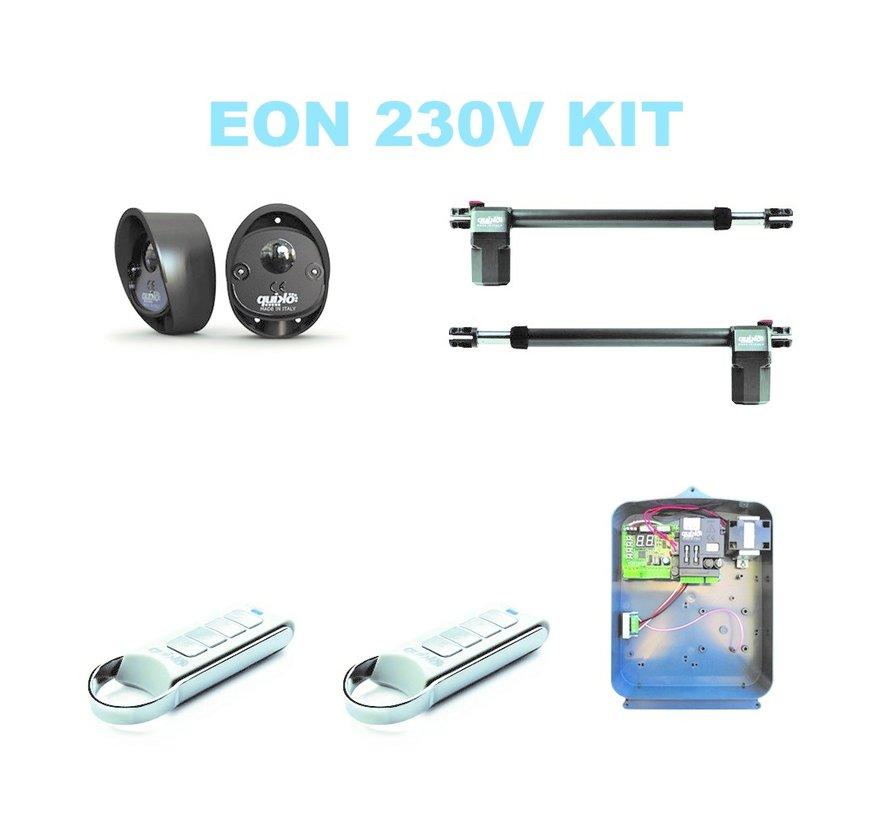 EON E400 is de topkwaliteit automatische draaipoortopener voor poortautomatisering in de professional series