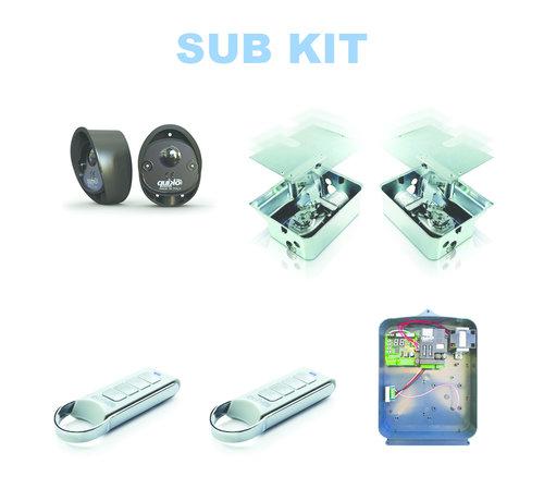 Quiko SUB is de top in de ondergrondse poortopeners voor onzichtbare installaties IP67