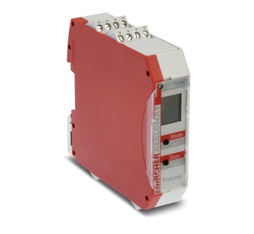 Bircher 2-kanaals Induction Loop Detector controller voor 2 inductielussen