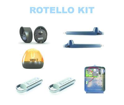 Quiko ROTELLO QK-R400 is de heavy-duty versie van de poortopeners voor poort automatisering