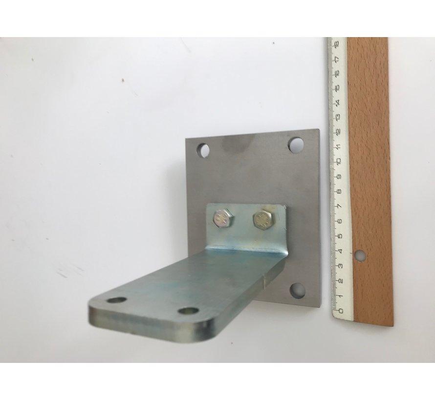 Muurplaat en paalbevestigingsplaat EON 400 - Copy