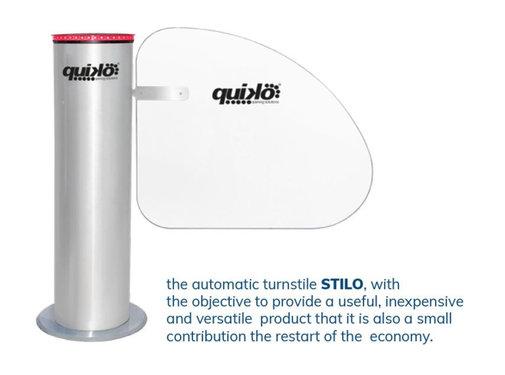 Quiko STILO automatische toegangszuil