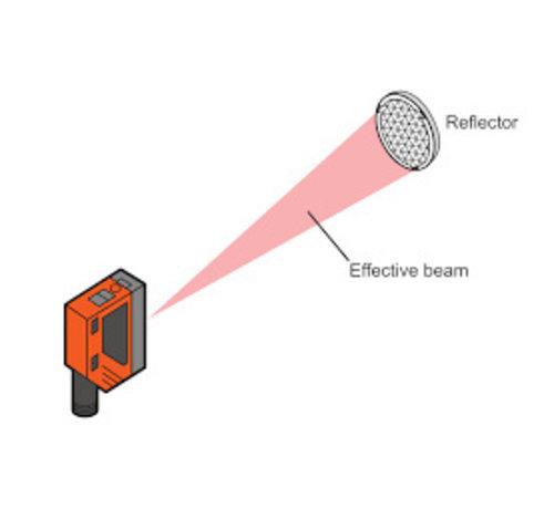 Quiko Infra Rood fotocel met reflector