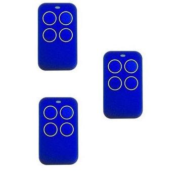 Quantum 4-kanaals Universele afstandsbediening  - 3-pack