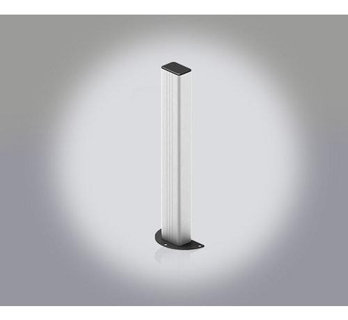 Aluminium paaltjes voor montage fotocellen