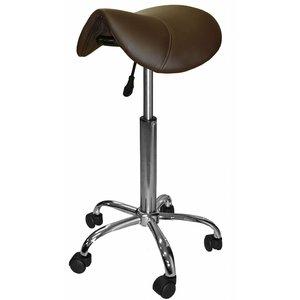Saddle stool brown