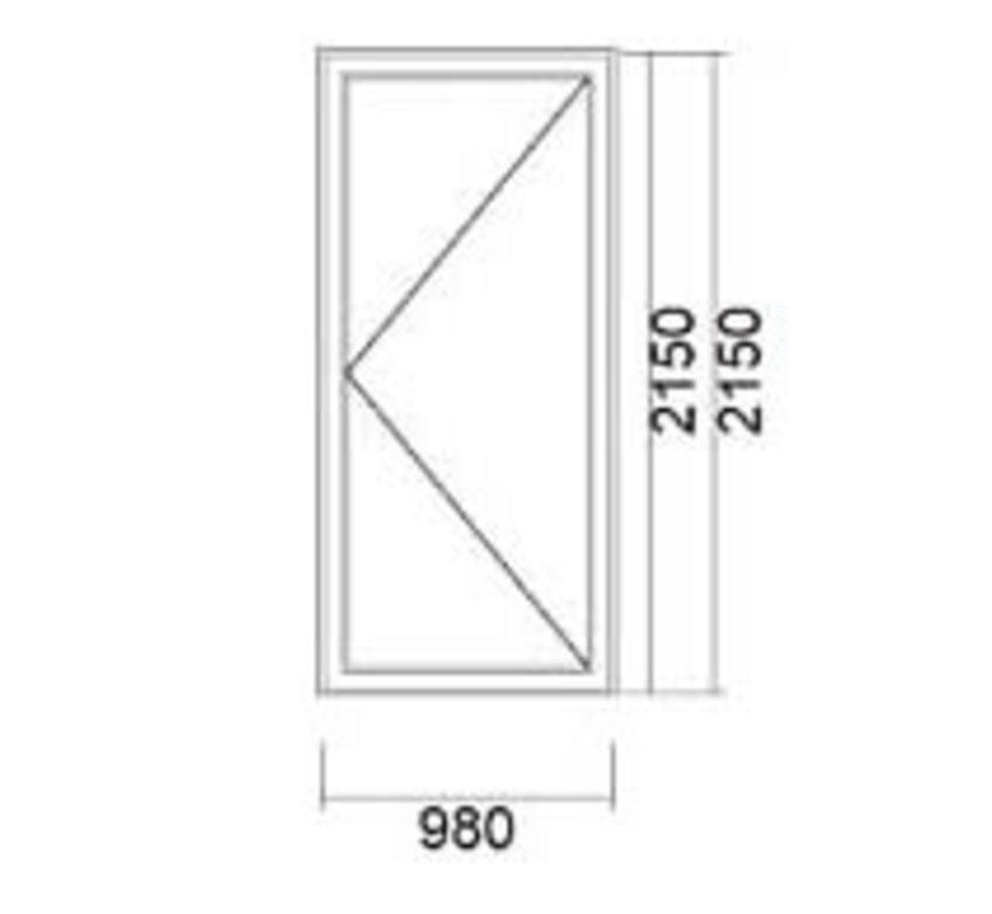 Buitendeur 98x215