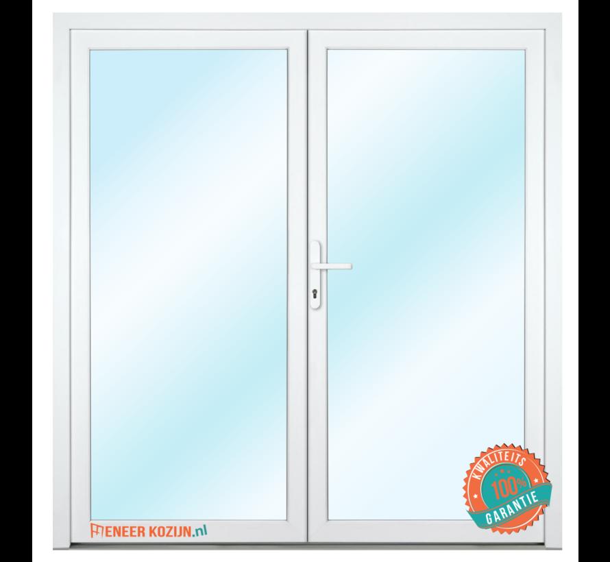 Dubbele deur 200x215