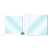 RoRo Profil Dakkapel kozijn 150x110 Intrek