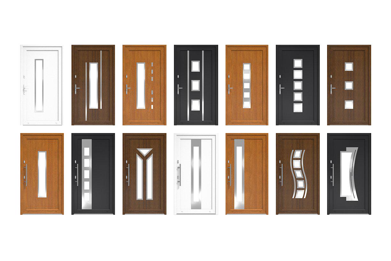 Een kunststof deur kan volledig zelf worden samengesteld