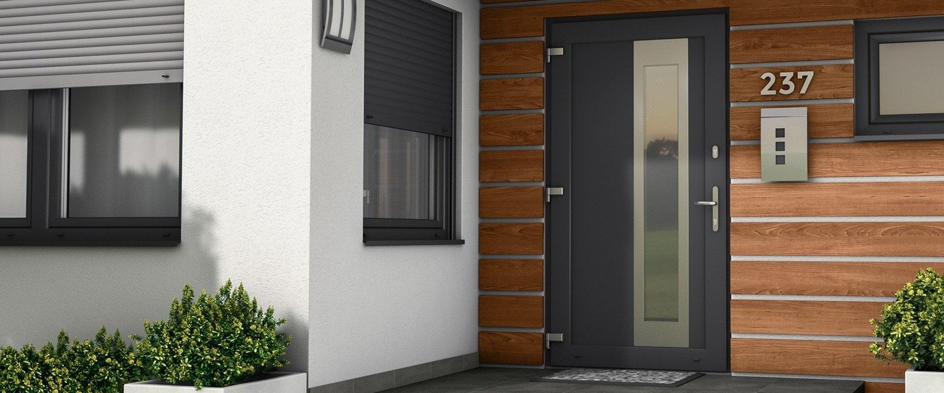 kunstof deuren geven uw gevel een mooie uitstraling
