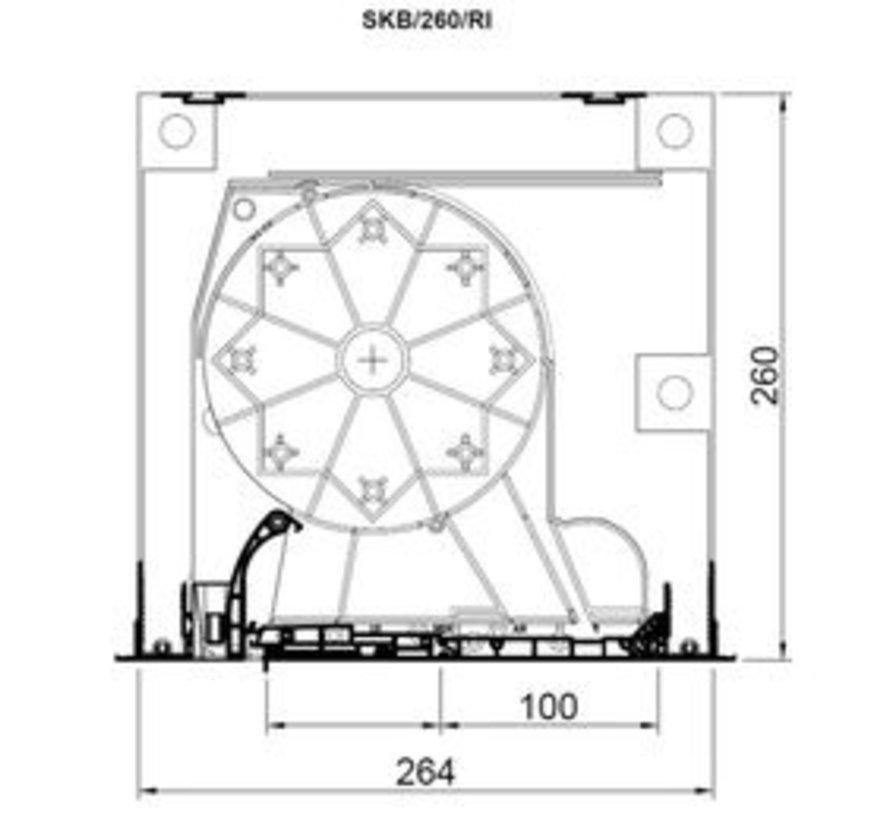 Aluprof bovenrolluik SKB Styroterm