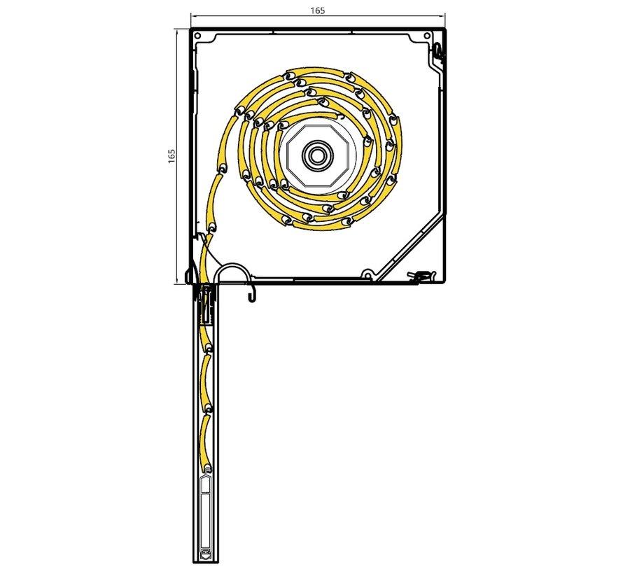 Drutex vooraanbouw rolluik inbouw SP