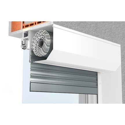 Comfortable, veiligheid en thermische isolatie dankzij rolluiken.
