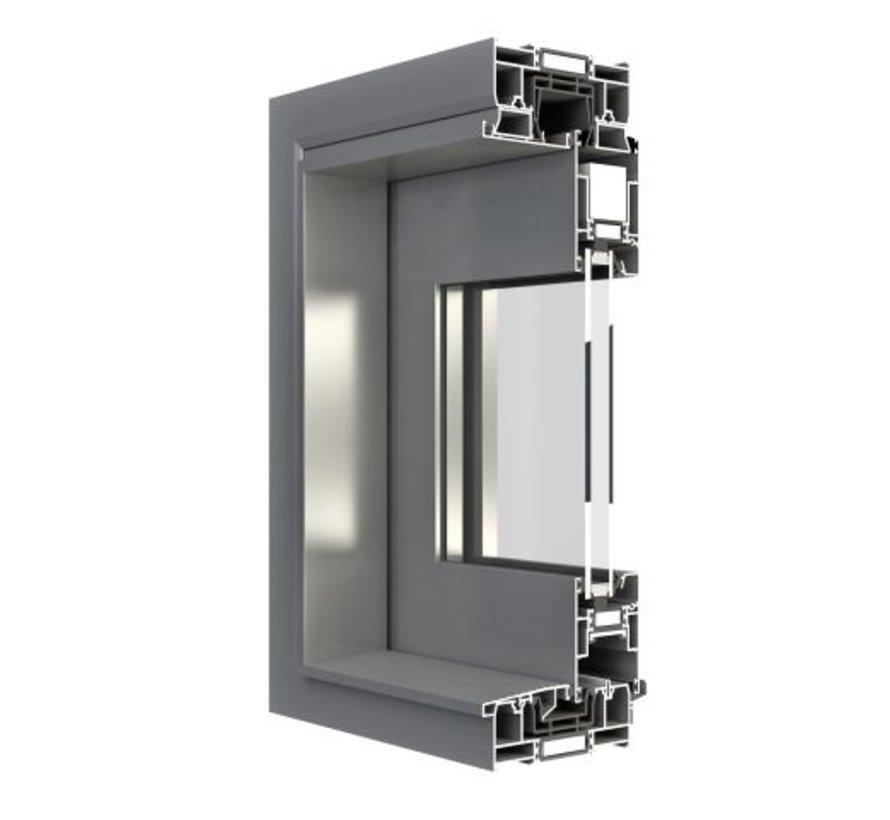 Hefschuifpui Aluminium mb59