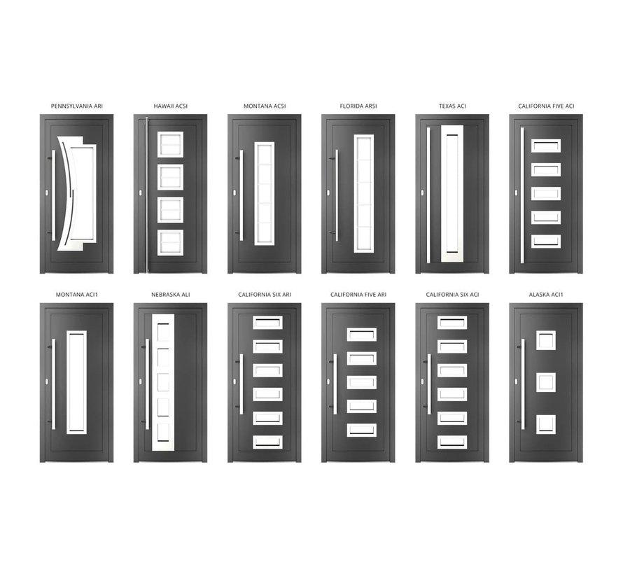 Voordeur Aluminium mb 86 SI