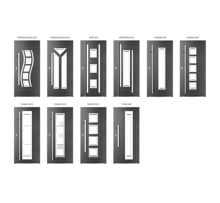 Voordeur Aluminium mb70