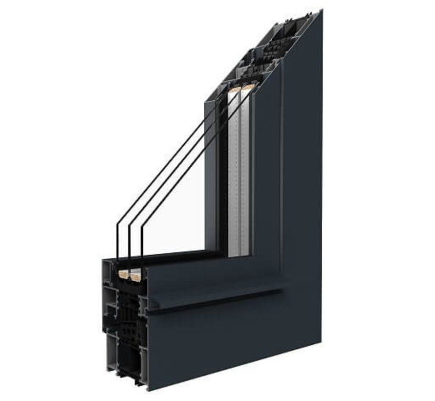 Kozijn Aluminium 86SI