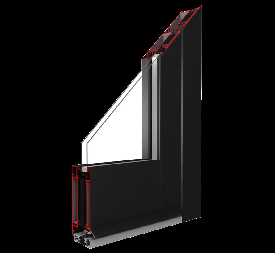 Voordeur Aluminium mb70 HI