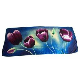 Irene Tulip scarfs Tulpensjaal Blauw TB814