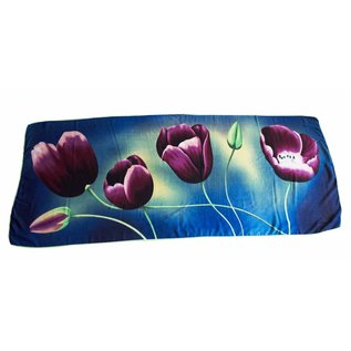Irene Tulip scarfs Tulip scarf Blue TB814