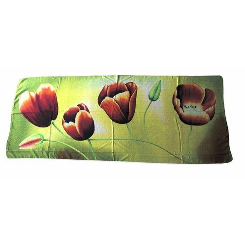 Irene Tulip scarfs Tulpensjaal Geel TGR816