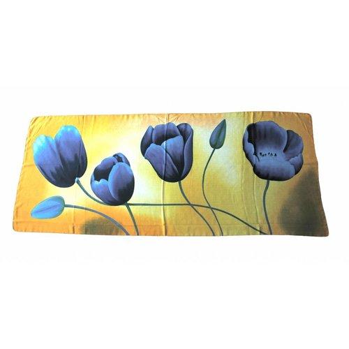 Irene Tulip scarfs Tulip scarf Orange TO817