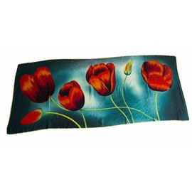 Irene Tulip scarfs Tulip scarf Green TD818