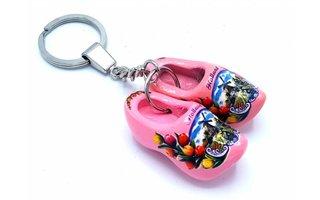 Woodenshoe keyhanger 2 shoes