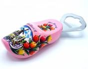 Bottle opener shoe
