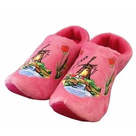 Holland Slippers Windmolen Roze
