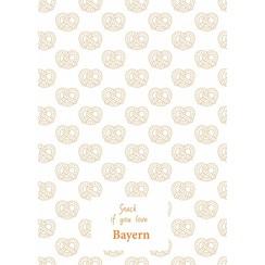 Bayern teatowel Orange