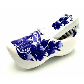 Shoe brush clog Delftblue