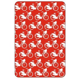 Playing cards bicycles red