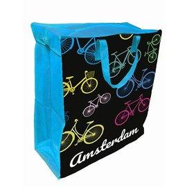 Shopper groot fietsen blauw