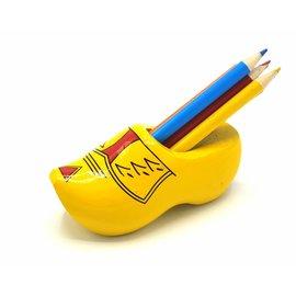 Pencil clog with 6 pencils Farmer yellow