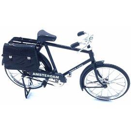 miniature bicycle 23cm black
