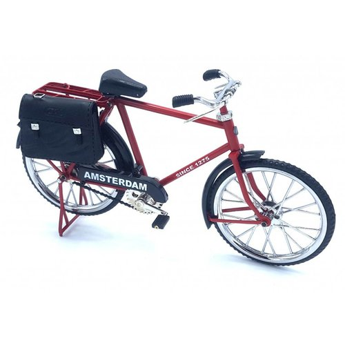 miniature bicycle 23cm Red