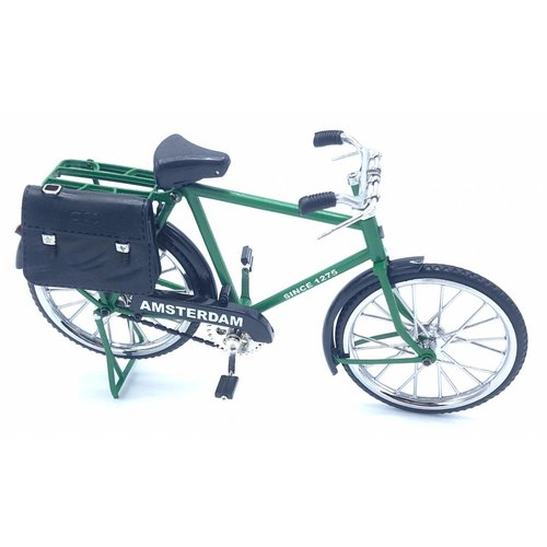 miniature bicycle 23cm Green